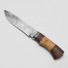 Нож  Беркут дамаск береста