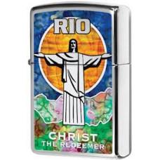 """Зажигалка Zippo 29256 """"Rio Christ The Redeemer"""