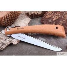 Нож Opinel серии Nature №18, пила, клинок 18см., углер сталь, антикор., бук
