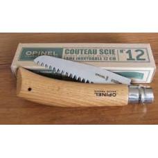 Нож Opinel серии Nature №12, пила, клинок 12см., угл сталь, антикор.покрытие, рукоять-бук,