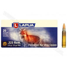 223 Rem  LAPUA 3,6гр.(55grn) Full Metall Jacket