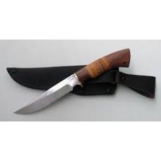 Нож Осетр сталь х12мф (береста)