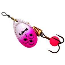 Блесна MEPPS Aglia E блистер №2 Pink Bright