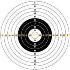 Мишень Remington №4 спортивная 500х500 черная